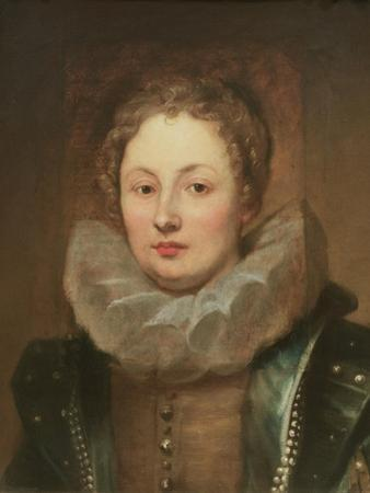 Portrait of a noblewoman by Sir Anthony van Dyck