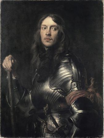 Portrait of an Armored Warrior by Sir Anthony Van Dyck