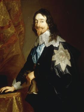 Portrait of Charles I by Sir Anthony Van Dyck