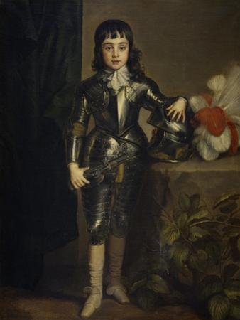 Portrait of Charles II of England as Child by Sir Anthony Van Dyck