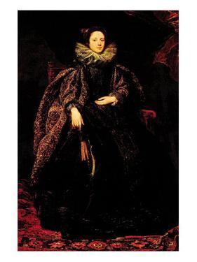Portrait of Marchesa Balbi by Sir Anthony Van Dyck