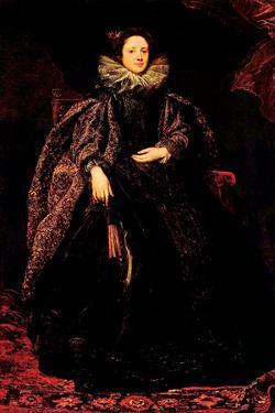 Portrait of Marchesa Balbi by Sir Anthony Van Dyck