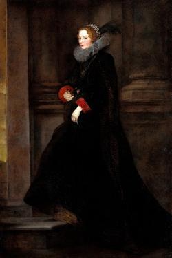 Portrait of Marchesa Geronima Spinola, Ca 1624 by Sir Anthony Van Dyck