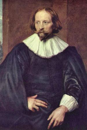 Portrait of Quintijn Simons by Sir Anthony Van Dyck