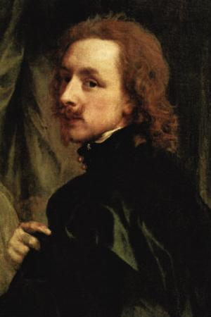 Portrait of Sir Endimion Porter by Sir Anthony Van Dyck