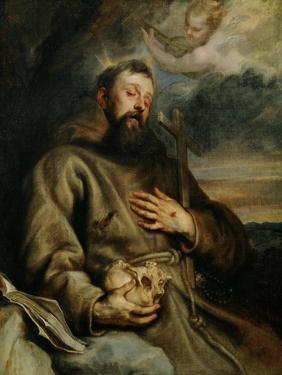 Saint Francis of Assisi, circa 1627-1632 by Sir Anthony Van Dyck