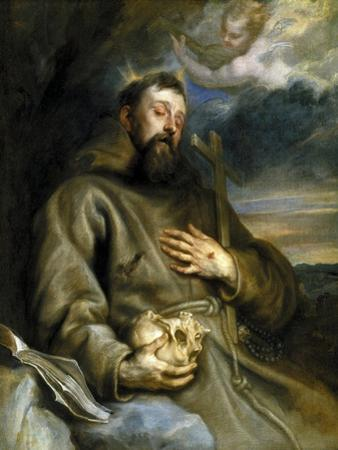 Saint Francis of Assisi in Ecstasy, 1627-1632 by Sir Anthony Van Dyck
