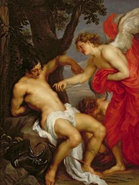 Saint Sebastian and the Angel by Sir Anthony Van Dyck