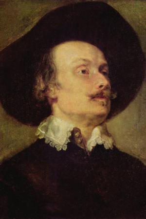 Self Portriat of a Man by Sir Anthony Van Dyck