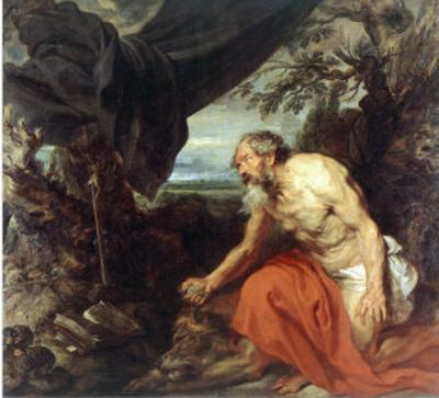 St. Jerome by Sir Anthony Van Dyck