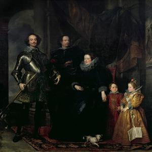 The Lomellini Family, C.1626-27 by Sir Anthony Van Dyck