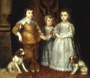 The Three Eldest Children of Charles I by Sir Anthony Van Dyck