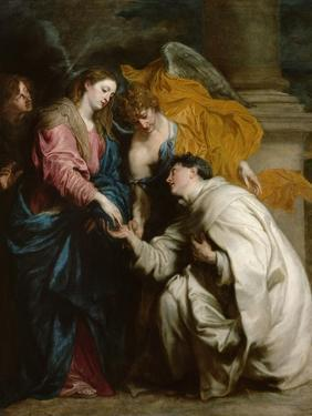 The Vision of the Blessed Hermann Joseph, 1630 by Sir Anthony Van Dyck