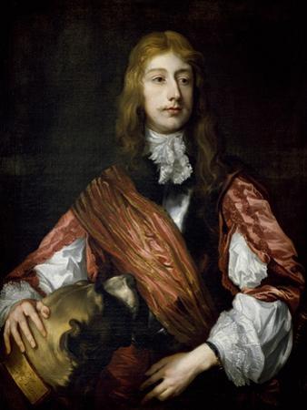 Thomas Killigrew and His Dog by Sir Anthony Van Dyck