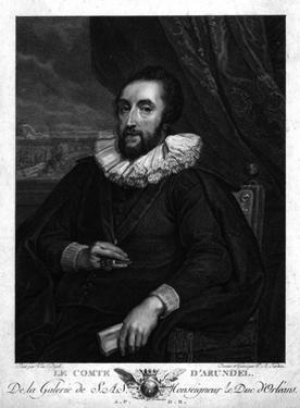 Thos Howard of Arundel by Sir Anthony Van Dyck