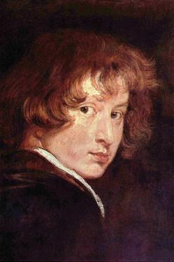 Van Dyk Self Portrait by Sir Anthony Van Dyck