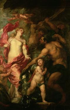 Venus Asking Vulcan For the Armour of Aeneas by Sir Anthony Van Dyck