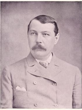 Sir Arthur Conan Doyle British Physician and Writer, Circa 1895