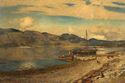 Loch Linnhe at Port Appin, Argyllshire, 1884
