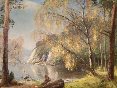 Ullswater, Silver and Gold, 1917