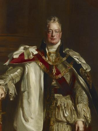 Portrait of King William Iv, Wearing the Robes of the Garter, C.1831