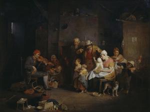 The Blind Fiddler by Sir David Wilkie