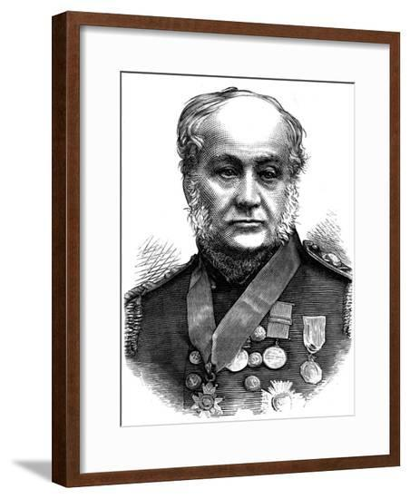 Sir Edward Belcher, British Naval Officer--Framed Giclee Print
