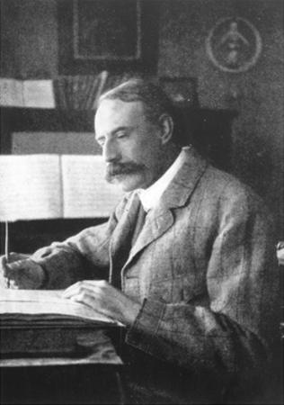 Sir Edward Elgar, (1857-193), English Composer, Late 19th-Early 20th Century