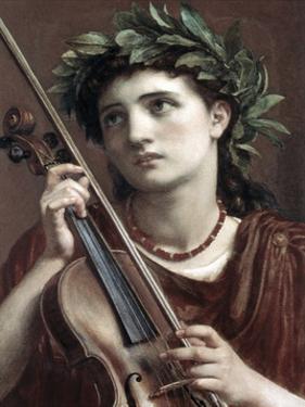 Music, Heavenly Maid by Sir Edward John Poynter