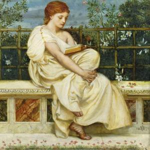 Reading by Sir Edward John Poynter