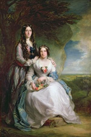 Lady Adeliza Manners and Lady Mary Foley, 1848