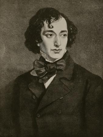 Portrait of Benjamin Disraeli, Illustration from 'Hutchinson's Story of the British Nation', C.1923