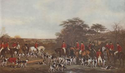 Sir Richard Sutton and the Quorn Hounds