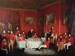The Melton Hunt Breakfast by Sir Francis Grant