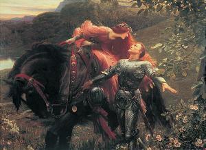 La Belle Dame sans Merci by Sir Frank Dicksee