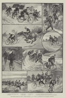 Volunteer Cyclists at Work by Sir Frederick William Burton