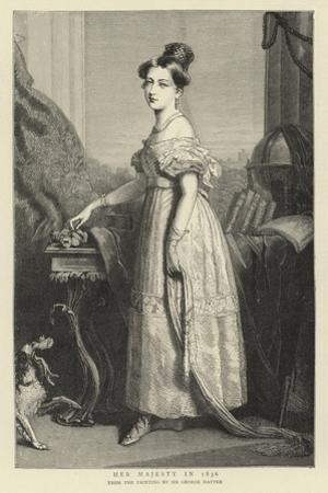 Her Majesty in 1836 by Sir George Hayter