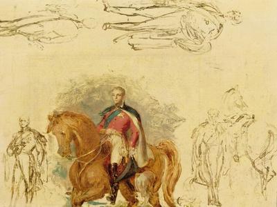 Studies for the Duke of Wellington (1769-1852)