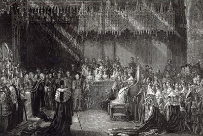 The Coronation of the Queen