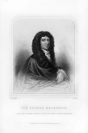 Sir George Mackenzie of Rosehaugh, Scottish Lawyer and Legal Writer by J Rogers