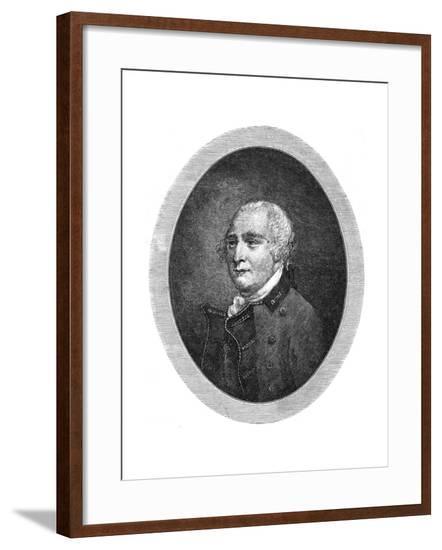 Sir Guy Carleton--Framed Giclee Print