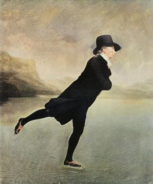 Reverend Walker Skating by Sir Henry Raeburn