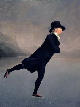 The Reverend Robert Walker Skating on Duddingston Loch, 1795 by Sir Henry Raeburn