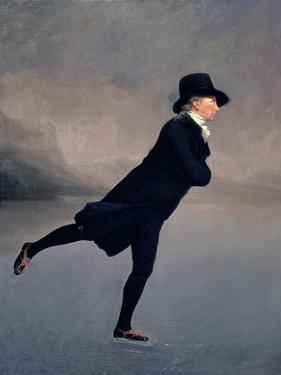 The Reverend Robert Walker Skating on Duddingston Loch, 1795 by Sir Henry Raeburn
