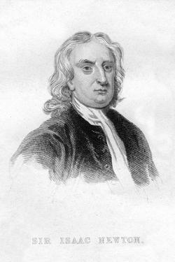 Sir Isaac Newton, English Mathematician, Astronomer and Physicist