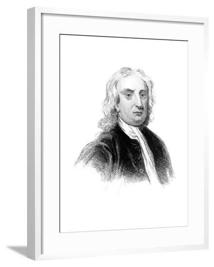Sir Isaac Newton, English Physicist, Mathematician and Astronomer--Framed Giclee Print