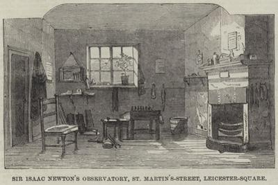 Sir Isaac Newton's Observatory, St Martin'S-Street, Leicester-Square