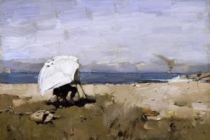 Hard at It, 1883 by Sir James Guthrie