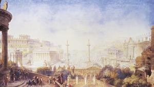 An Imaginative Reconstruction, Rome by Sir James Pennethorne