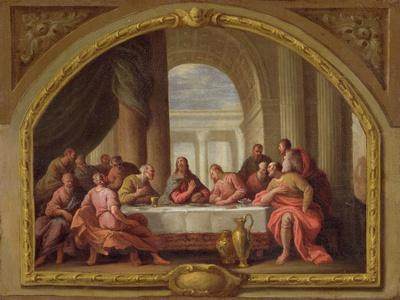 Sketch for 'The Last Supper', St. Mary's, Weymouth, Formerly Attributed to Antonio Verrio…